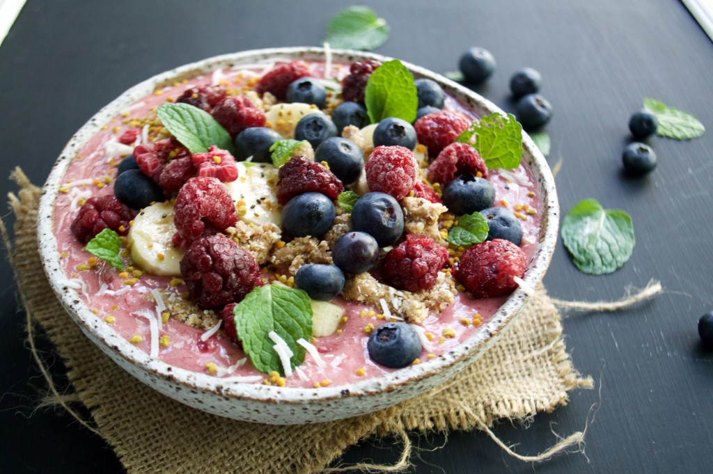 Antioxidant Rich Smoothie Bowl