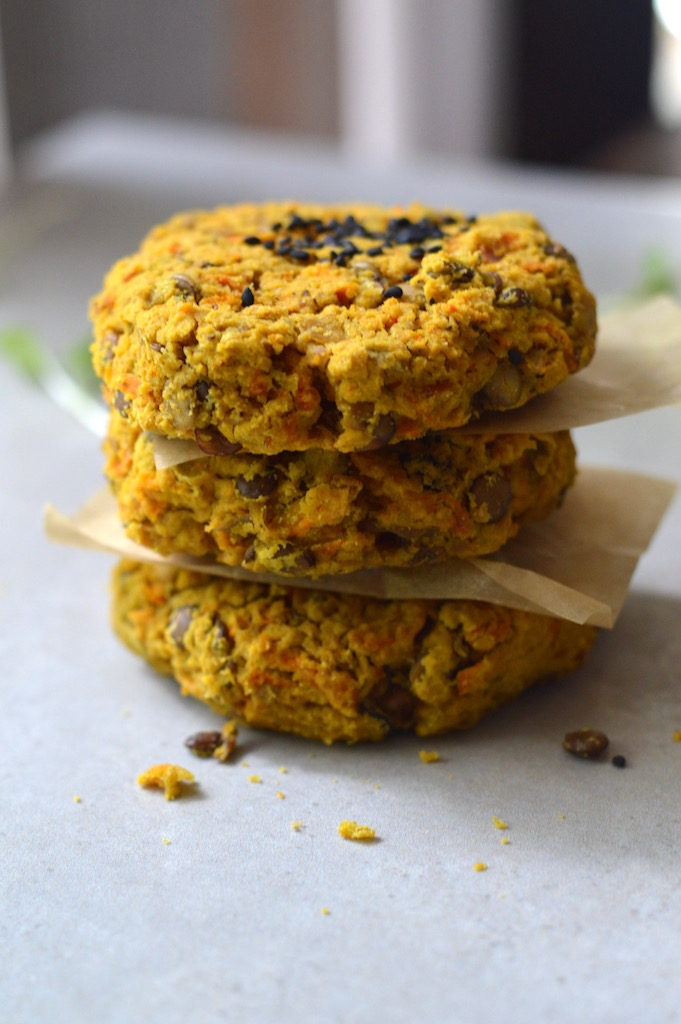 Lentil Patties (gf+V)