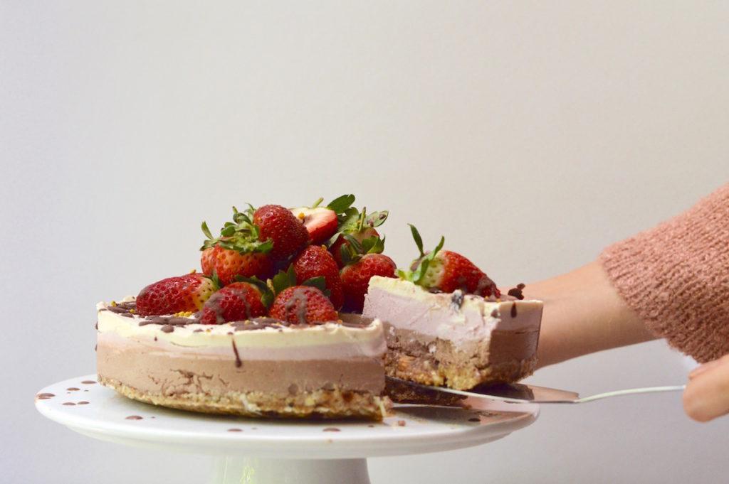 Neapolitan Dream Cake