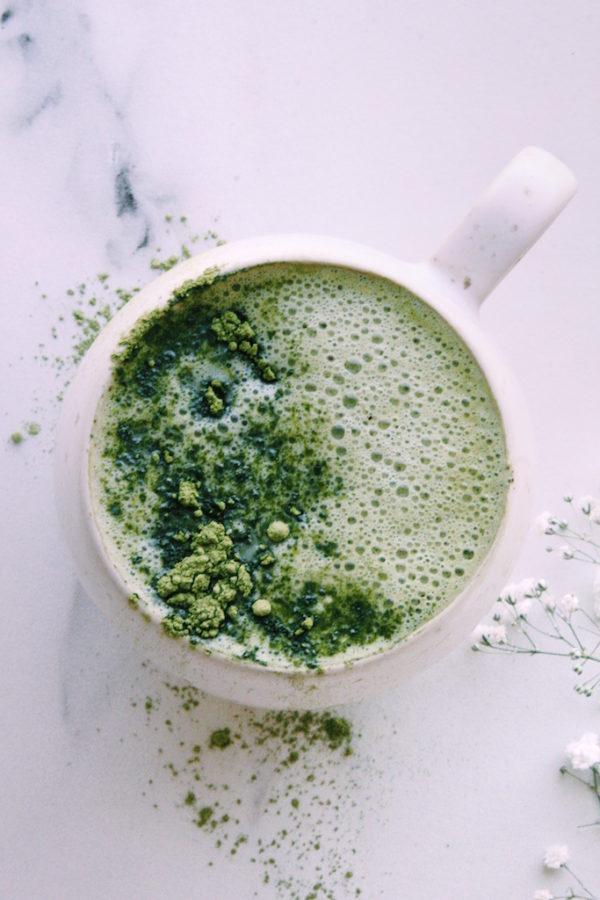 Matcha Latte Goodness (dairy-free)