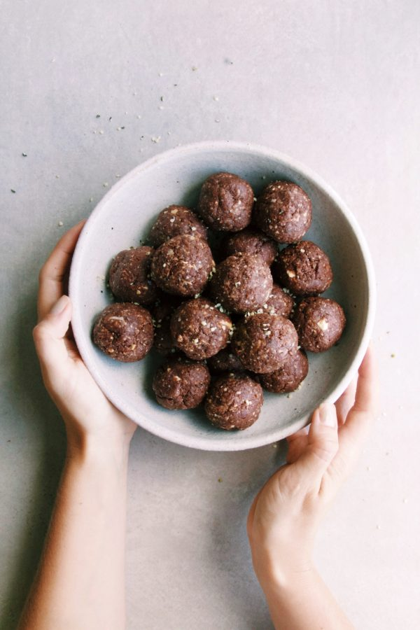 Cacao + Peanut Butter Protein Balls