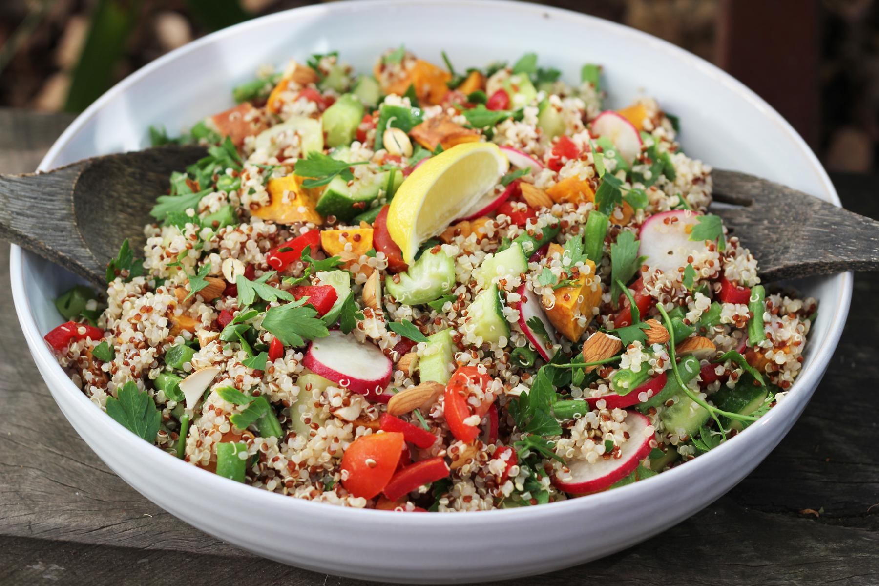 quinoa veggie salad 2