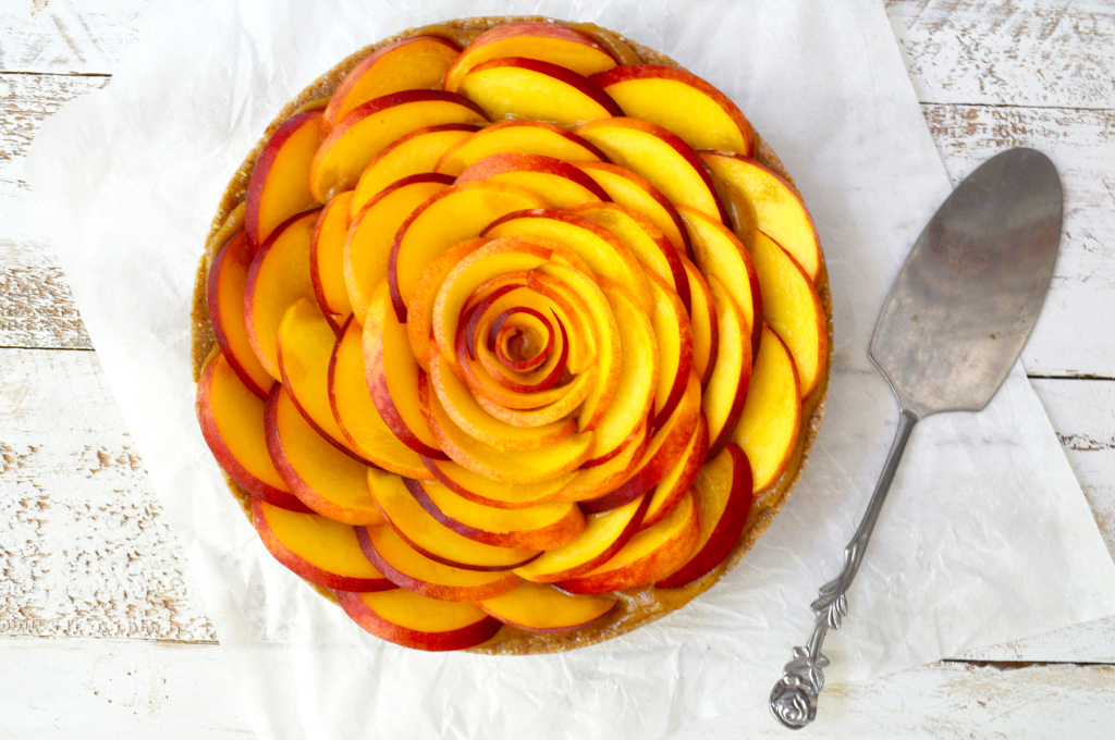 peach tart 1