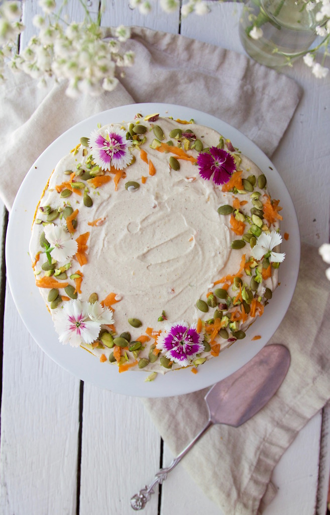 carrot cake decoration nutritious carrot cake with a lemon amp orange 2474